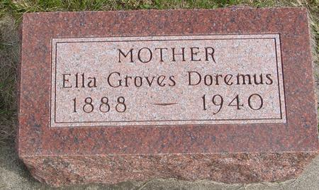 GROVES DOREMUS, ELLA - Cherokee County, Iowa | ELLA GROVES DOREMUS