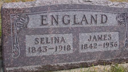 ENGLAND, JAMES & SELINA - Cherokee County, Iowa | JAMES & SELINA ENGLAND