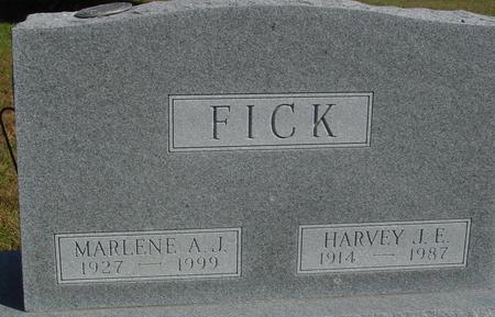 FICK, HARVEY & MARLENE - Cherokee County, Iowa | HARVEY & MARLENE FICK