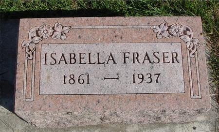 FRASER, ISABELLA - Cherokee County, Iowa | ISABELLA FRASER