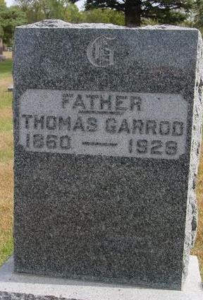 GARROD, THOMAS - Cherokee County, Iowa | THOMAS GARROD