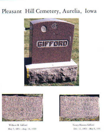 GIFFORD, WILLIAM L. M. - Cherokee County, Iowa | WILLIAM L. M. GIFFORD