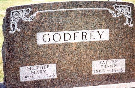 GODFREY, FRANK & MARY - Cherokee County, Iowa | FRANK & MARY GODFREY