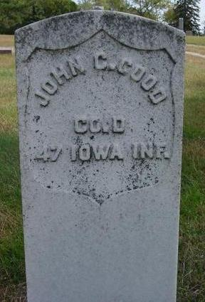 GOOD, JOHN C. - Cherokee County, Iowa | JOHN C. GOOD