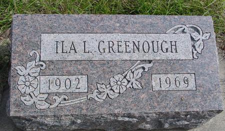 GREENOUGH, ILA L. - Cherokee County, Iowa | ILA L. GREENOUGH