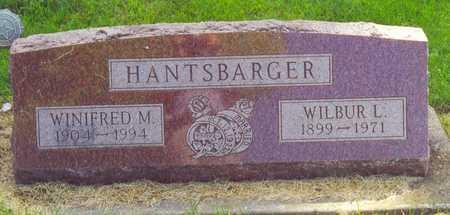 HANTSBARGER, WILBUR - Cherokee County, Iowa | WILBUR HANTSBARGER