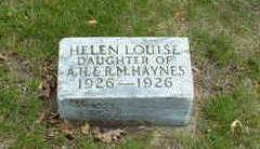 HAYNES, HELEN LOUISE - Cherokee County, Iowa | HELEN LOUISE HAYNES
