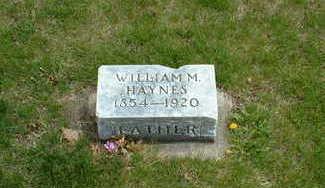 HAYNES, WILLIAM - Cherokee County, Iowa | WILLIAM HAYNES