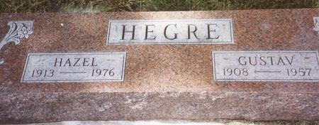 HEGRE, GUSTAV & HAZEL - Cherokee County, Iowa | GUSTAV & HAZEL HEGRE
