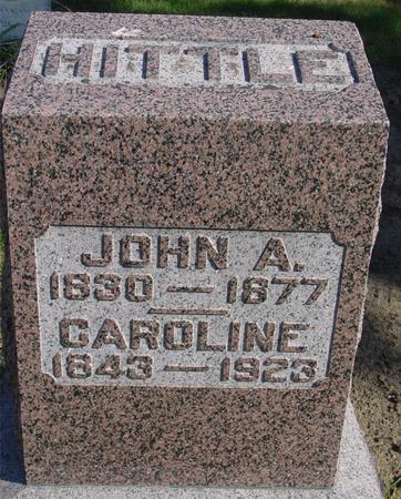 HITTLE, JOHN A. & CAROLINE - Cherokee County, Iowa | JOHN A. & CAROLINE HITTLE