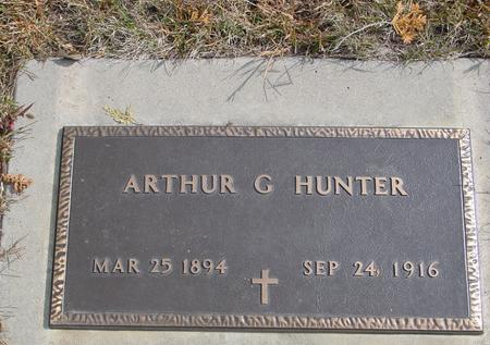 HUNTER, ARTHUR G. - Cherokee County, Iowa | ARTHUR G. HUNTER