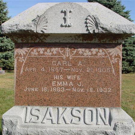 ISAKSON, CARL & EMMA - Cherokee County, Iowa | CARL & EMMA ISAKSON
