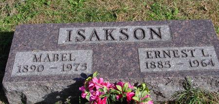 ISAKSON, ERNEST & MABEL - Cherokee County, Iowa | ERNEST & MABEL ISAKSON