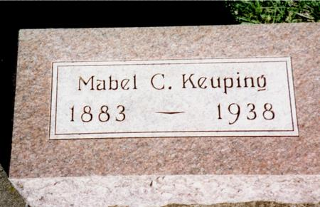 KEUPING, MABEL C. - Cherokee County, Iowa | MABEL C. KEUPING