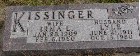KISSINGER, LYLE & IRMA - Cherokee County, Iowa | LYLE & IRMA KISSINGER