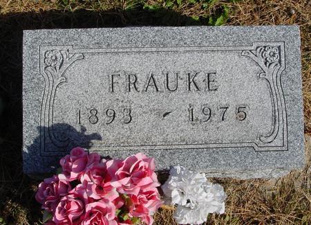 KREUTZ, FRAUKE - Cherokee County, Iowa | FRAUKE KREUTZ