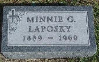 LAPOSKY, MINNIE G. - Cherokee County, Iowa | MINNIE G. LAPOSKY