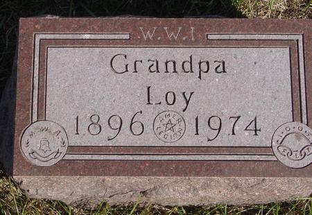 LOY, GRANDPA - Cherokee County, Iowa | GRANDPA LOY