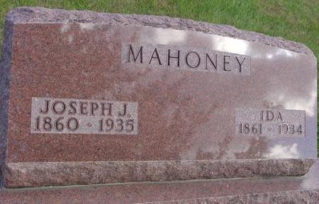 MAHONEY, JOSEPH & IDA - Cherokee County, Iowa | JOSEPH & IDA MAHONEY