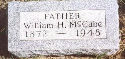 MCCABE, WILLIAM H. - Cherokee County, Iowa | WILLIAM H. MCCABE