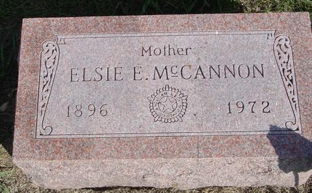 MCCANNON, ELSIE E. - Cherokee County, Iowa | ELSIE E. MCCANNON