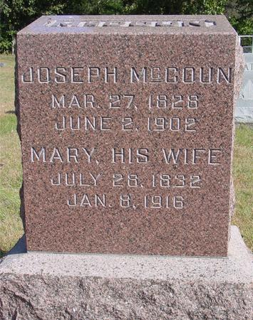 MCCOUN, JOSEPH & MARY - Cherokee County, Iowa | JOSEPH & MARY MCCOUN