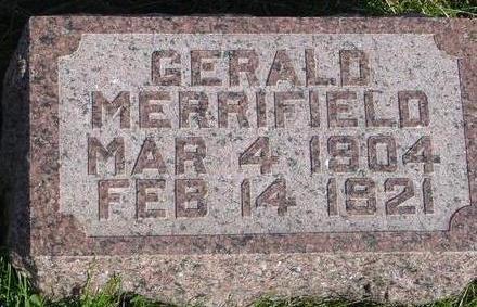 MERRIFIELD, GERALD - Cherokee County, Iowa | GERALD MERRIFIELD