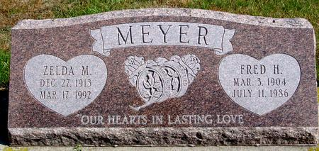 MEYER, FRED & ZELDA - Cherokee County, Iowa | FRED & ZELDA MEYER