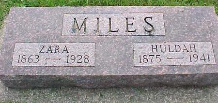 MILES, HULDAH - Cherokee County, Iowa | HULDAH MILES
