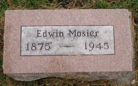 MOSIER, EDWIN - Cherokee County, Iowa | EDWIN MOSIER