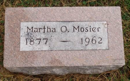 MOSIER, MARTHA O. - Cherokee County, Iowa | MARTHA O. MOSIER