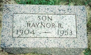 MOSIER, RAYNOR ROOSEVELT - Cherokee County, Iowa | RAYNOR ROOSEVELT MOSIER