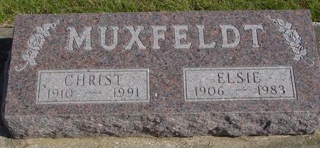 MUXFELDT, CHRIS & ELSIE - Cherokee County, Iowa | CHRIS & ELSIE MUXFELDT