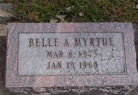 MYRTUE, BELLE A. - Cherokee County, Iowa | BELLE A. MYRTUE