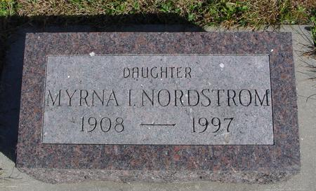 NORDSTROM, MYRNA I. - Cherokee County, Iowa | MYRNA I. NORDSTROM
