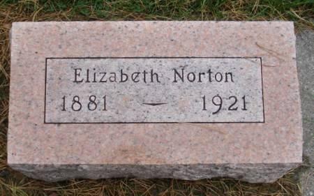 NORTON, ELIZABETH - Cherokee County, Iowa | ELIZABETH NORTON