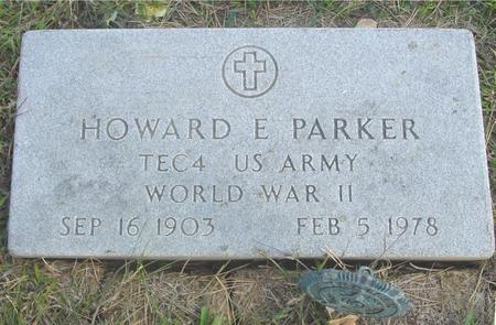 PARKER, HOWARD E. - Cherokee County, Iowa | HOWARD E. PARKER