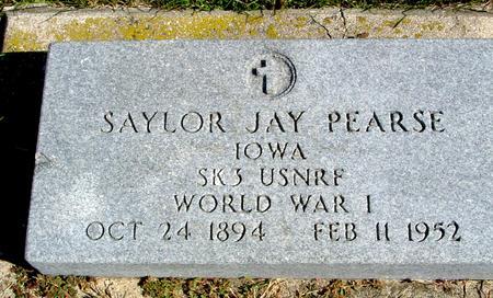 PEARSE, SAYLOR JAY - Cherokee County, Iowa | SAYLOR JAY PEARSE