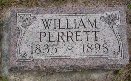 PERRETT, WILLIAM - Cherokee County, Iowa | WILLIAM PERRETT