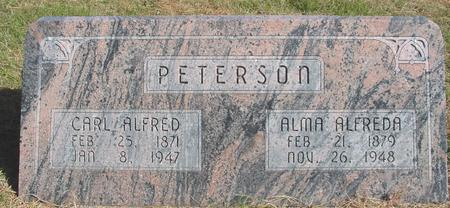 PETERSON, CARL & ALMA - Cherokee County, Iowa | CARL & ALMA PETERSON