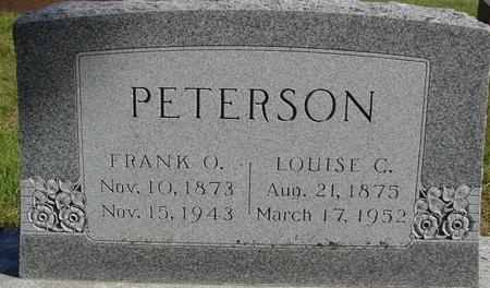 PETERSON, FRANK & LOUISE C. - Cherokee County, Iowa | FRANK & LOUISE C. PETERSON