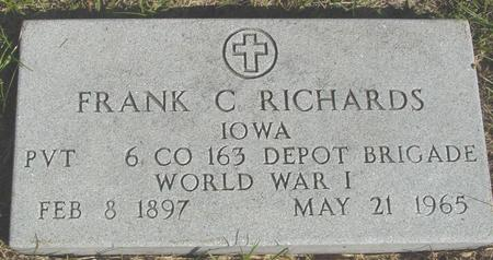 RICHARDS, FRANK C. - Cherokee County, Iowa | FRANK C. RICHARDS