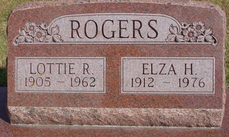 ROGERS, ELZA & LOTTIE - Cherokee County, Iowa | ELZA & LOTTIE ROGERS