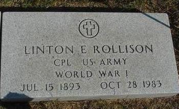 ROLLISON, LINTON E. - Cherokee County, Iowa | LINTON E. ROLLISON