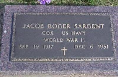 SARGENT, JACOB ROGER - Cherokee County, Iowa | JACOB ROGER SARGENT