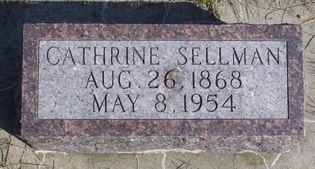 SELLMAN, CATHRINE - Cherokee County, Iowa | CATHRINE SELLMAN