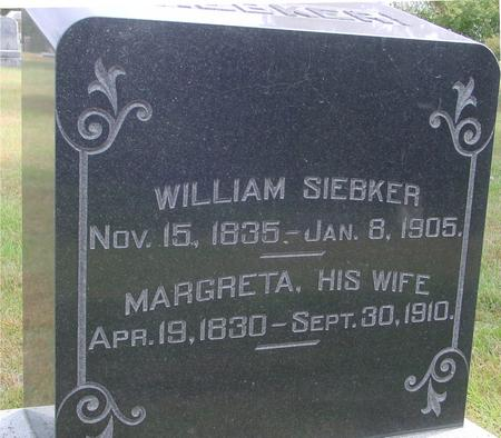 SIEBKER, WILLIAM & MARGRETA - Cherokee County, Iowa | WILLIAM & MARGRETA SIEBKER