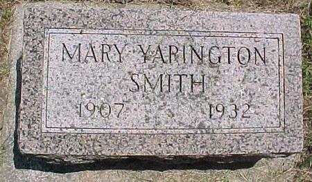 YARINGTON SMITH, MARY - Cherokee County, Iowa | MARY YARINGTON SMITH