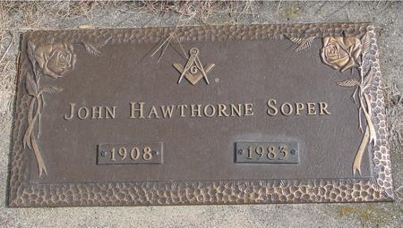SOPER, JOHN HAWTHORNE - Cherokee County, Iowa | JOHN HAWTHORNE SOPER