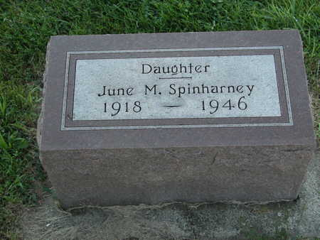 SPINHARNEY, JUNE - Cherokee County, Iowa | JUNE SPINHARNEY